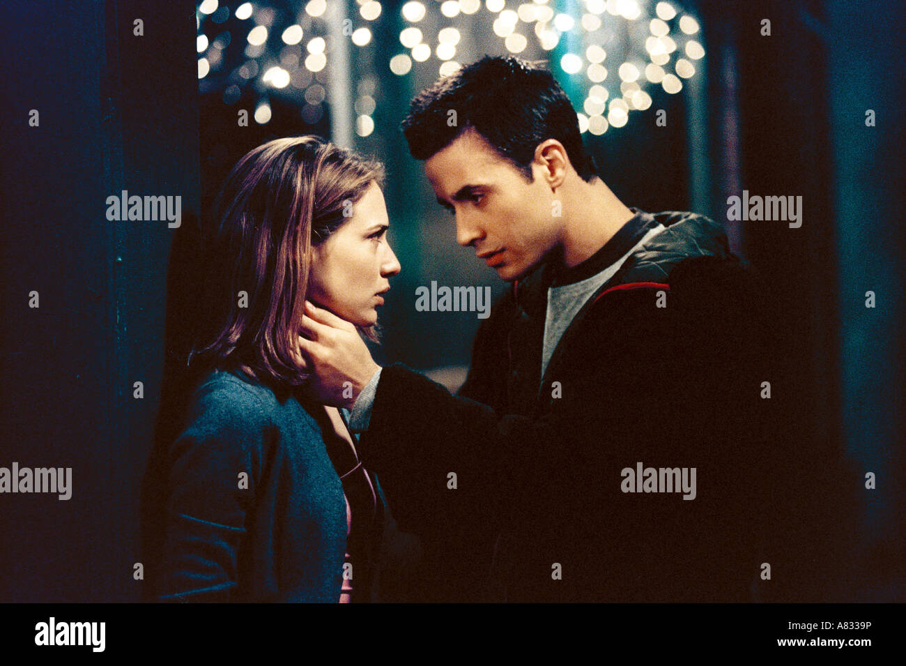 BOYS AND GIRLS - 2000 Punch Production film with Claire Forlani and Freddie Prince Jr - Stock Image