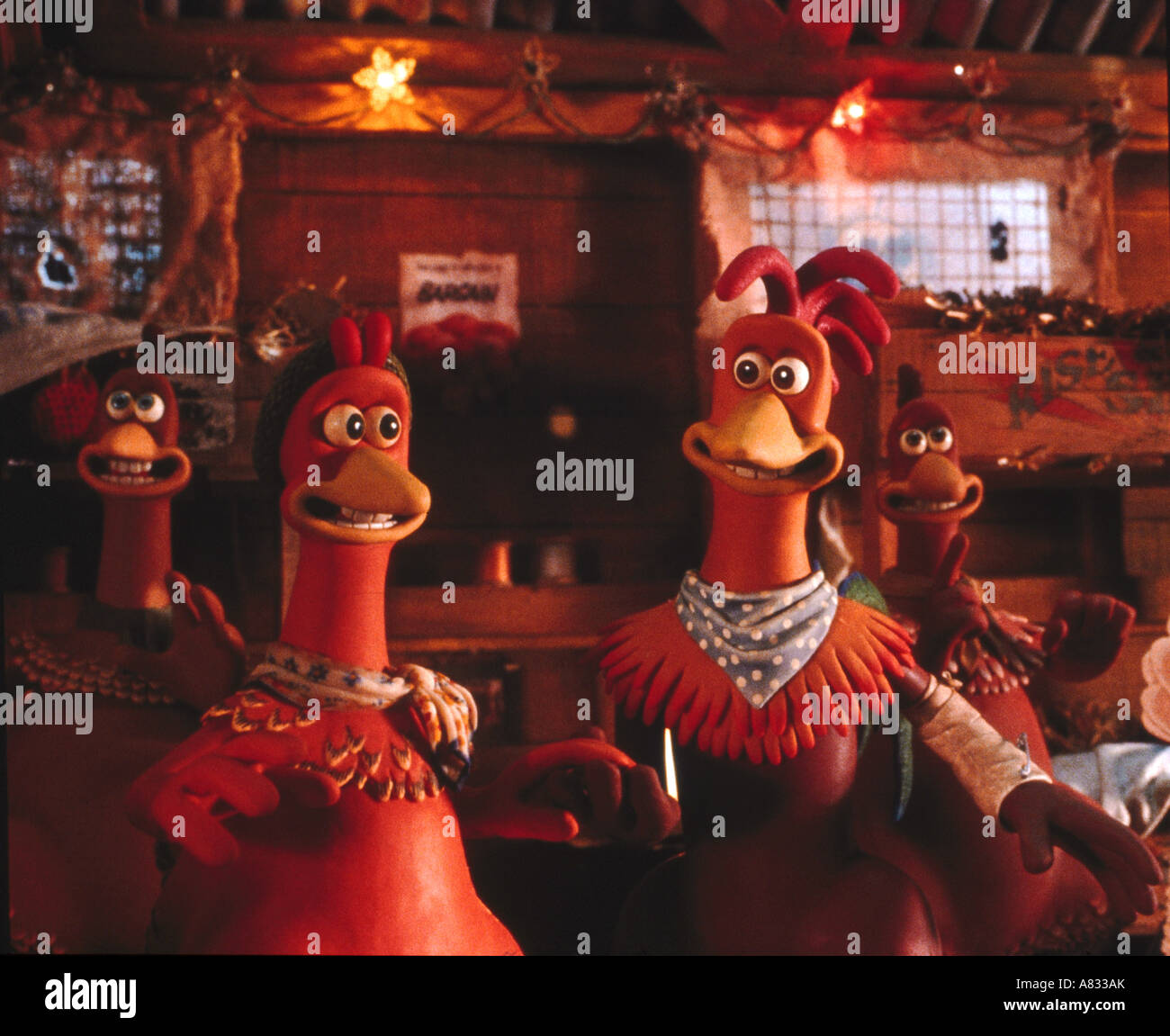 CHICKEN RUN - 2000 Ardman/Pathe/DreamWorks film - Stock Image