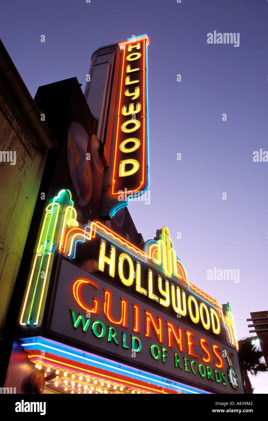 Hollywood Guinness World of Records Hollywood Blvd Los Angeles County California United States of America - Stock Image
