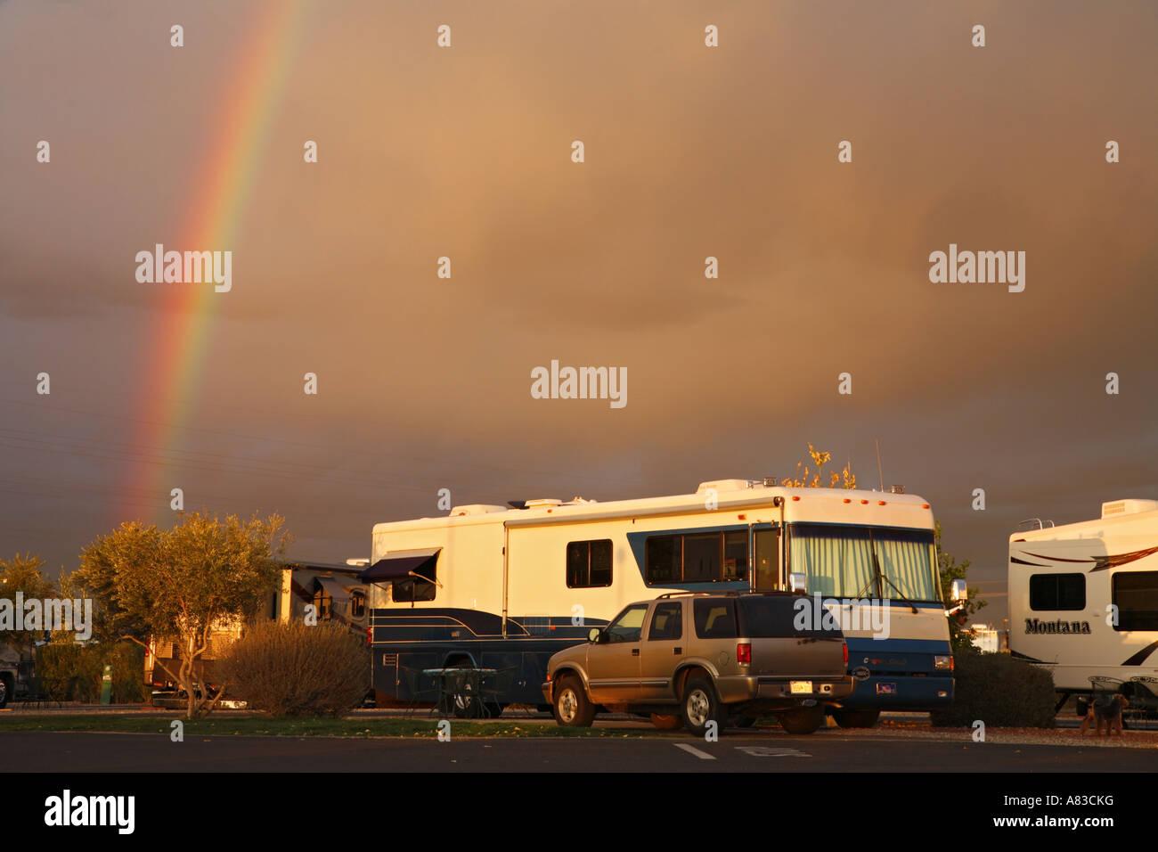 Beaudry RV Resort Tucson Arizona Stock Photo: 11974371 - Alamy