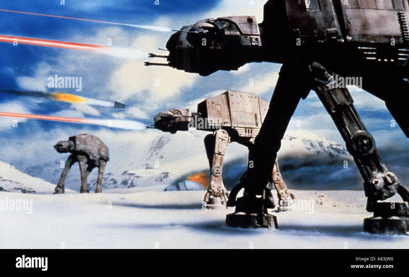 STAR WARS THE EMPIRE STRIKES BACK 1980 TCF/Lucas film - Stock Image