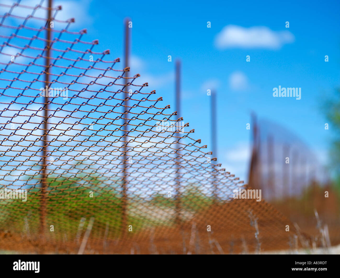 Chicken wire fence abstract Stock Photo: 11978003 - Alamy