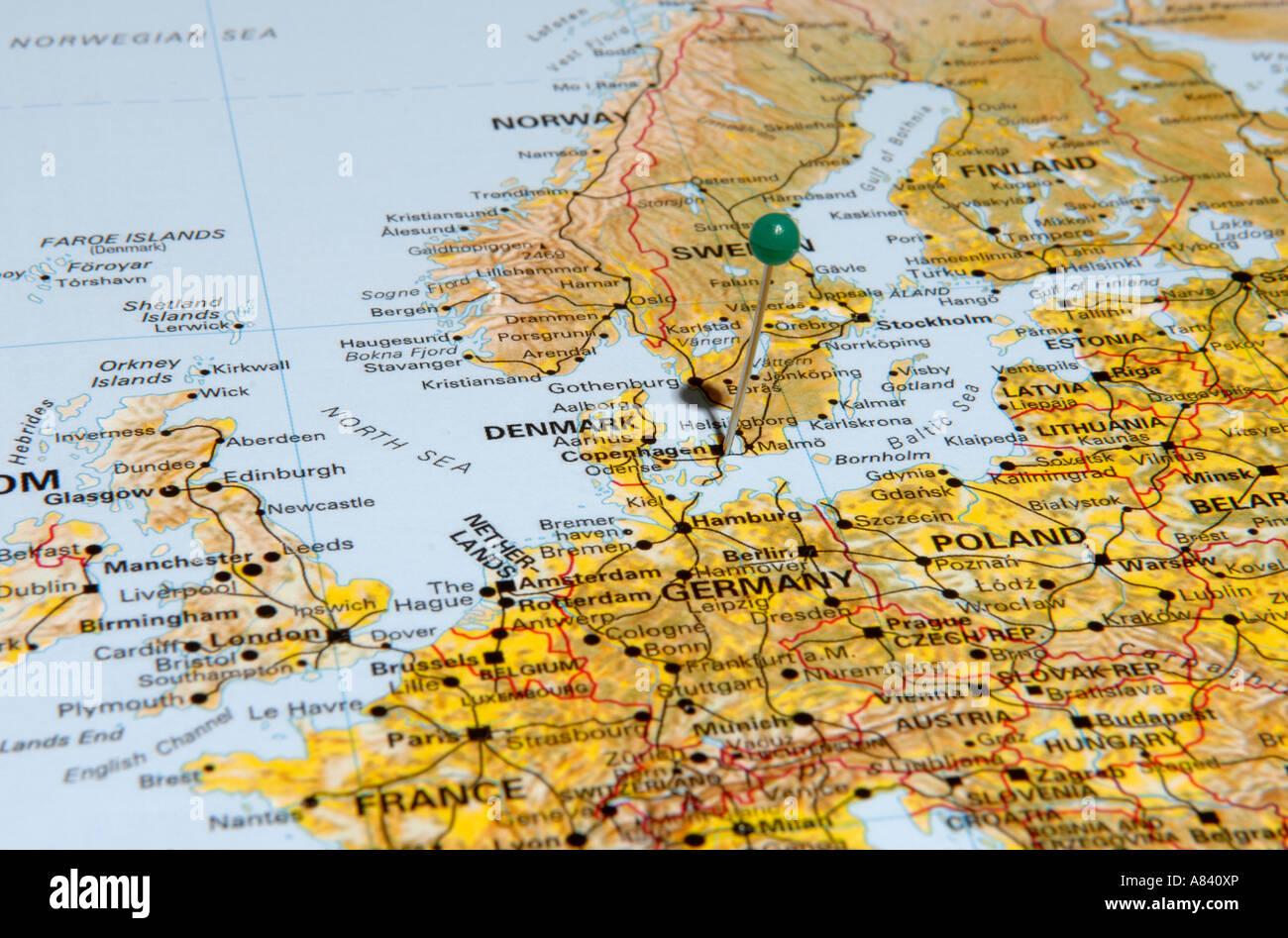 Denmark - Stock Image