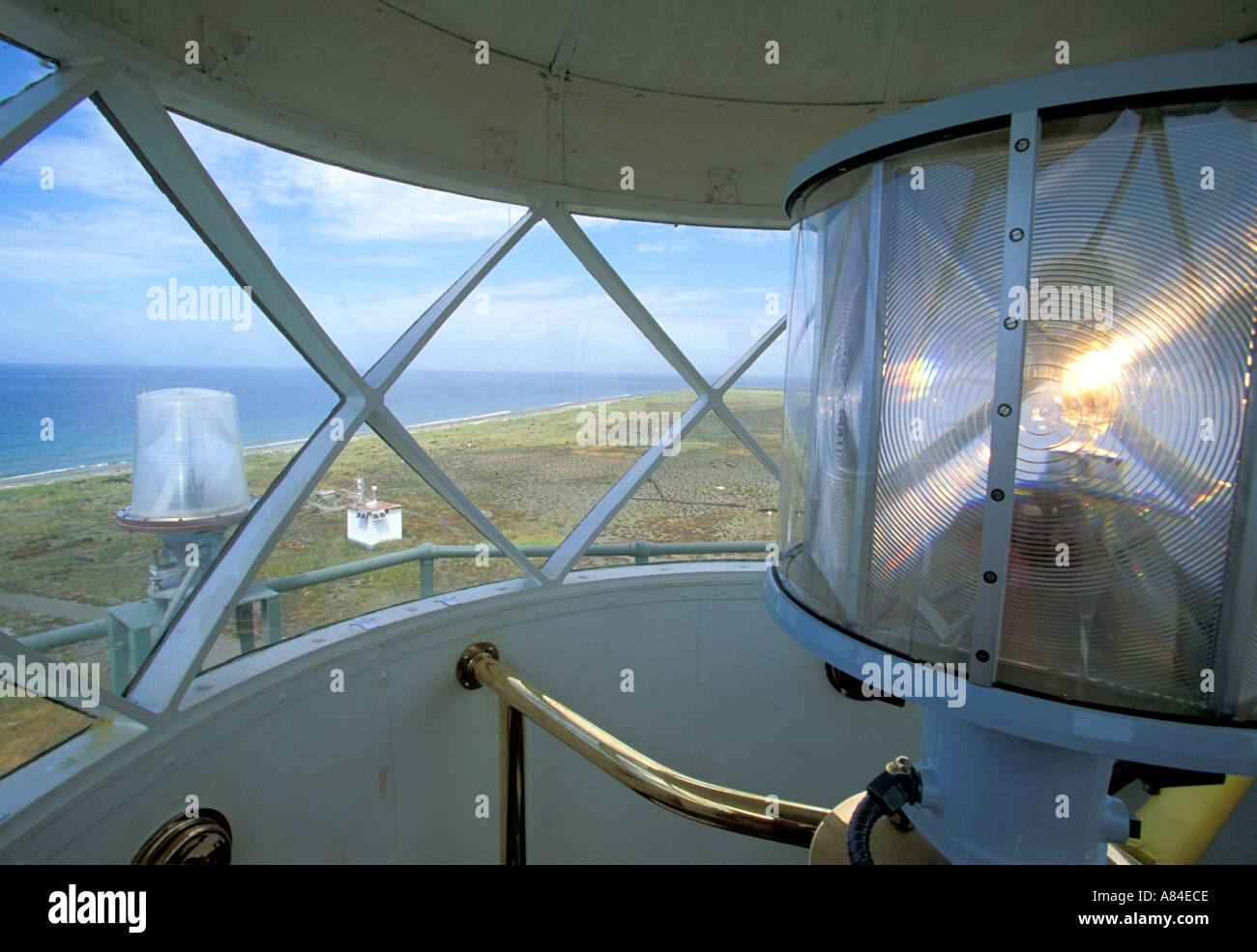 Interior view from New Dungeness Lighthouse Dungeness Spit