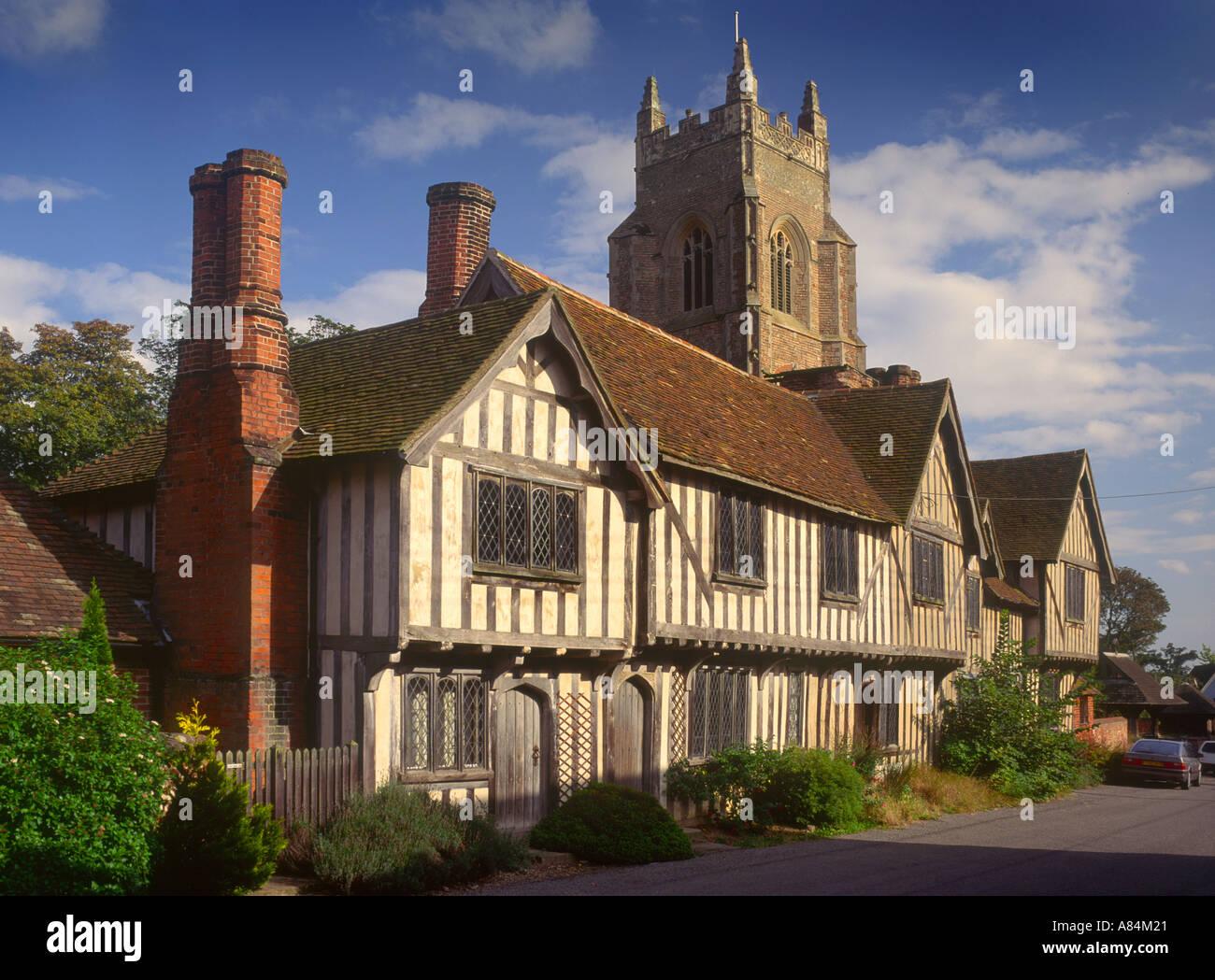 Stoke by Nayland in Suffolk England UK - Stock Image