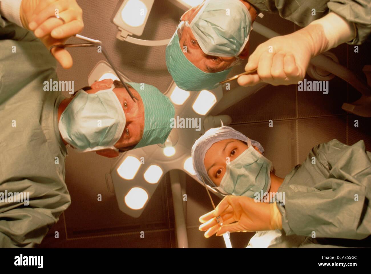 Surgery Operation Hospital Uk Stock Photos & Surgery