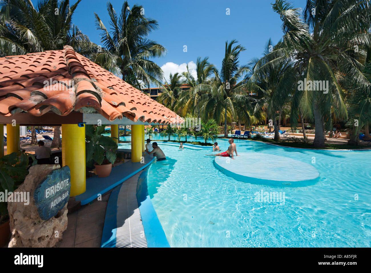 Swim Up Bar Coral Complex Sol Sirenas Varadero Cuba Caribbean