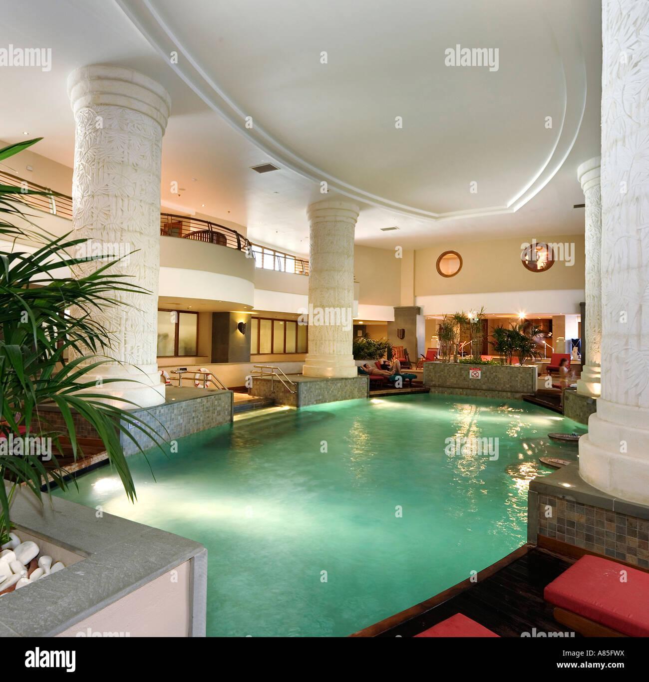 Modern Spa Interior Pool Stock Photos Modern Spa Interior Pool