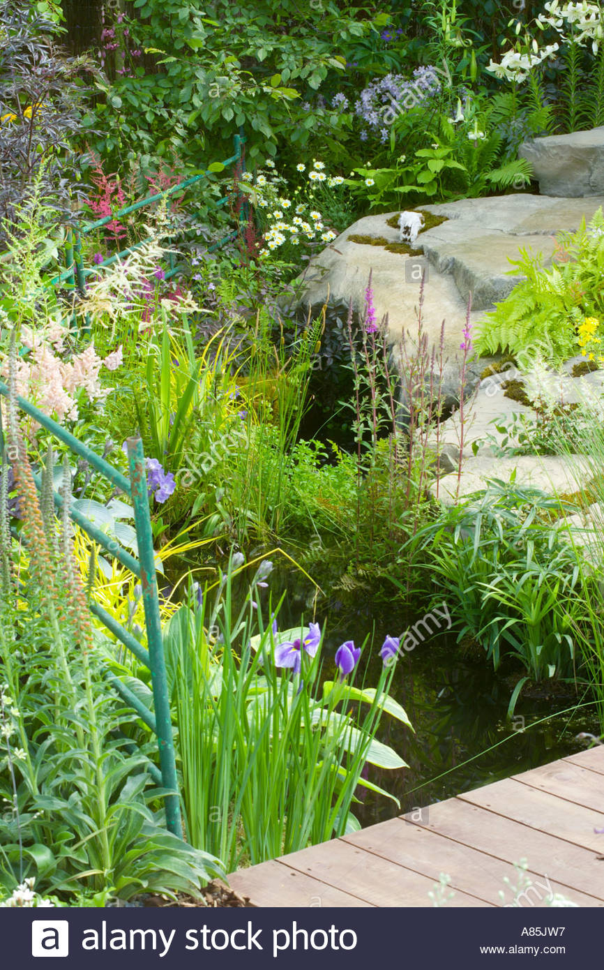 Contemporary Garden Design Stock Photos Amp Contemporary