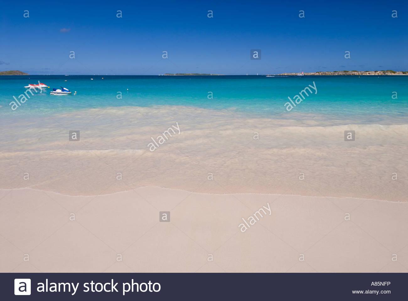 Baie Orientale, Saint Martin, French Antilles, Caribbean - Stock Image