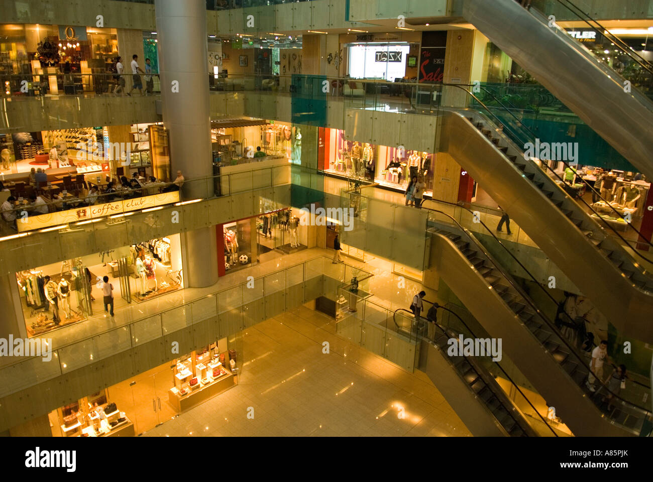 Paragon Shopping Mall in Orchard Road, Singapore. - Stock Image