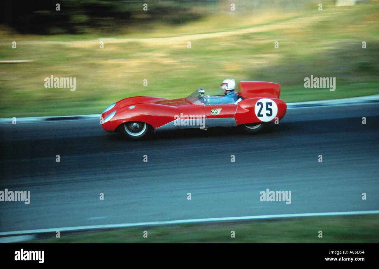 Historic racing car - Stock Image