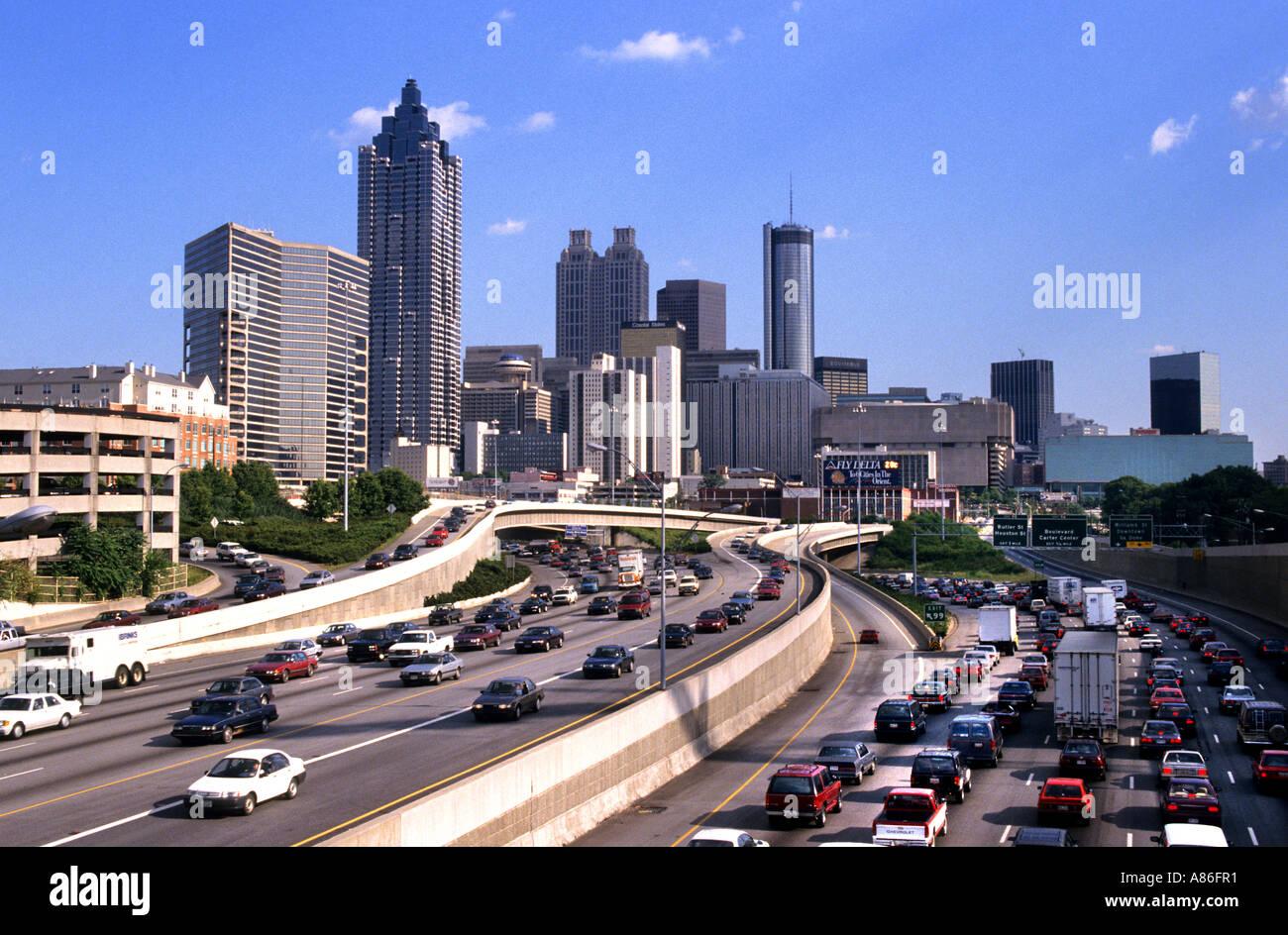 Town And Country Auto >> Atlanta Georgia United States of America town USA Stock Photo: 6859184 - Alamy