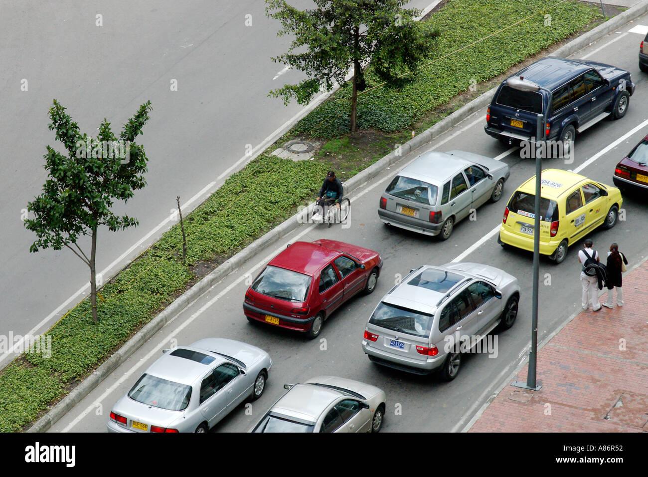 Street in Bogota - Stock Image