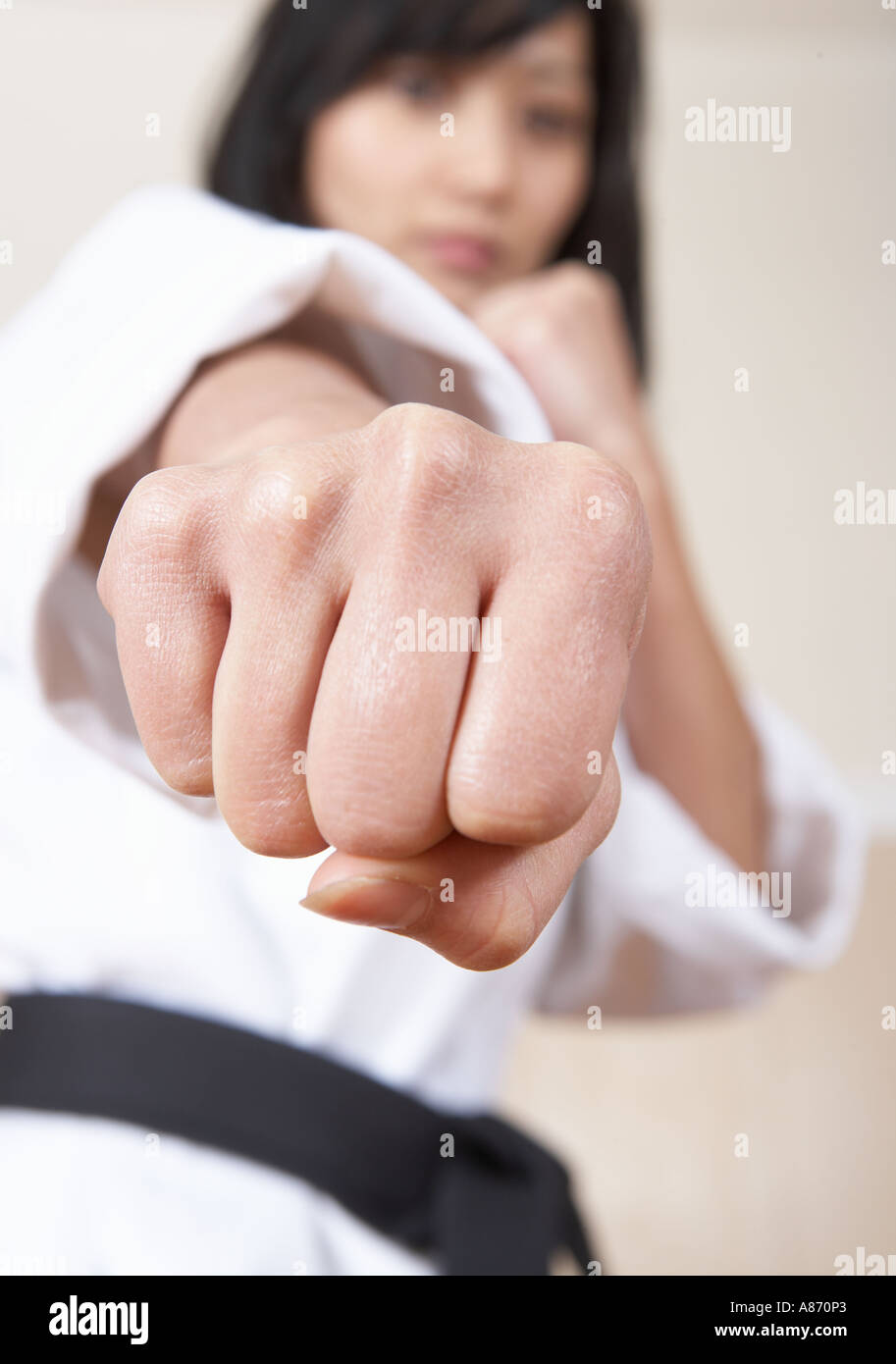 Female Martial Artists High Resolution Stock Photography And Images Alamy