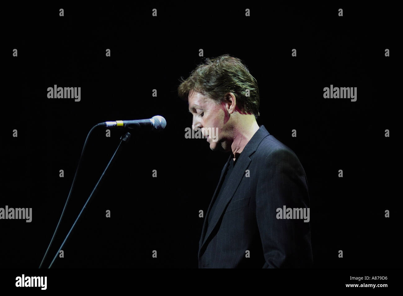 Paul Mccartney at the Empire Liverpool - Stock Image