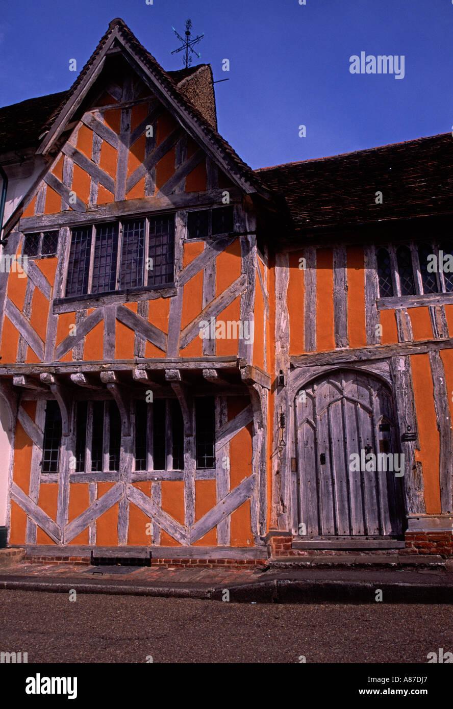 Little hall Lavenham  Suffolk England - Stock Image