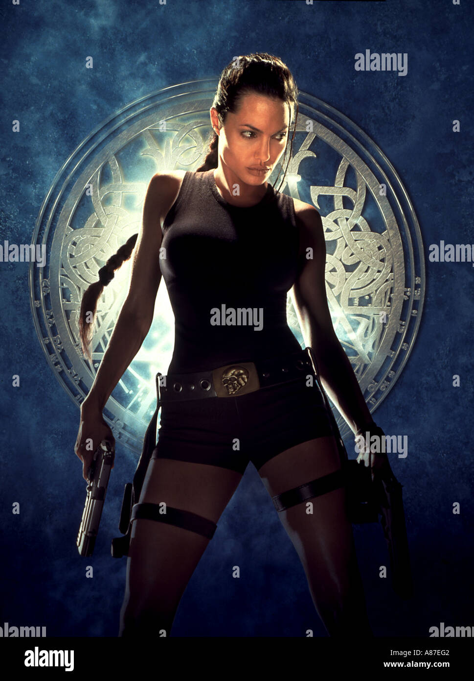 TOMB RAIDER 2003 UI film with Angelina Jolie - Stock Image