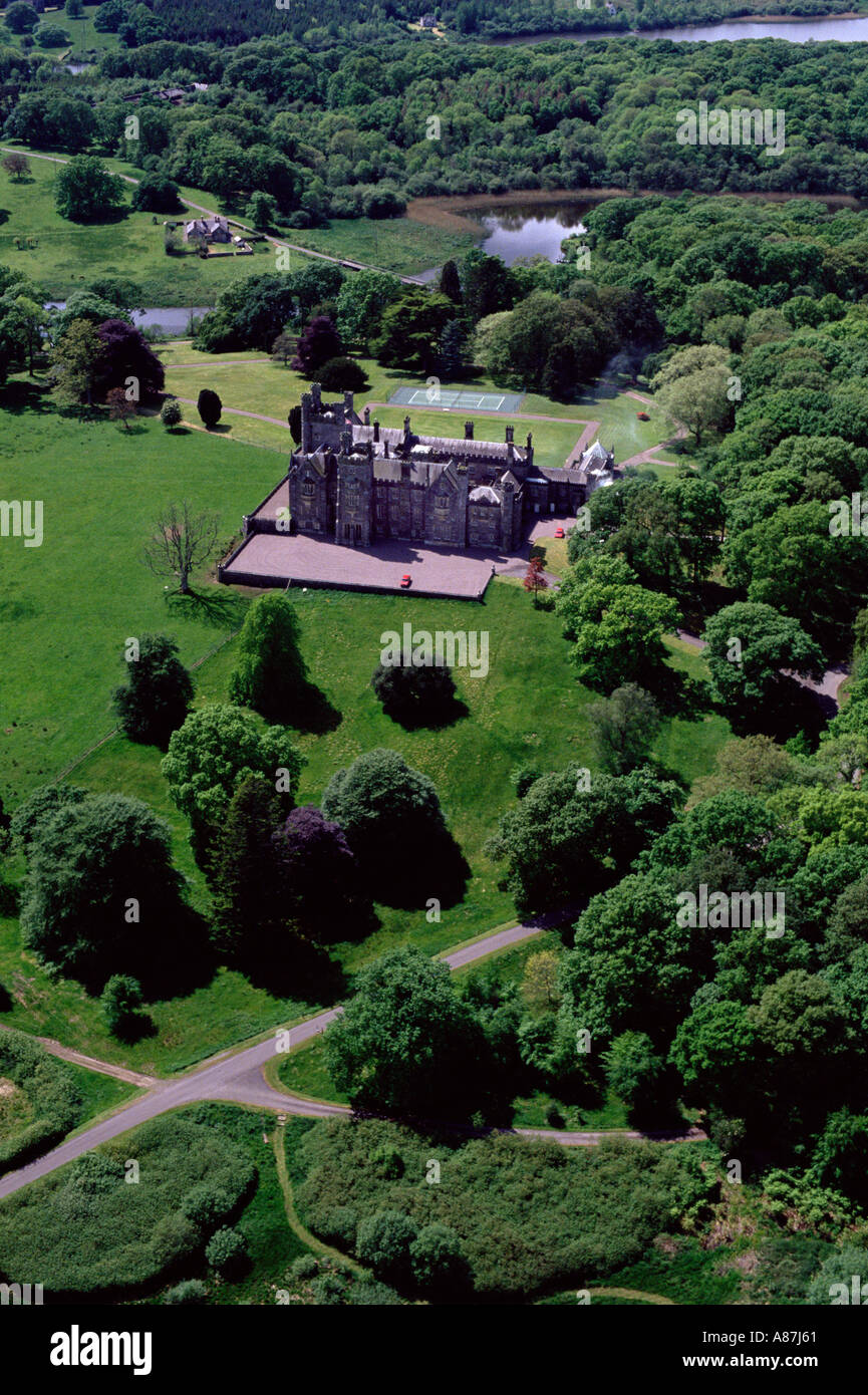 Crom Castle, Co. Fermanagh, Northern Ireland - Stock Image