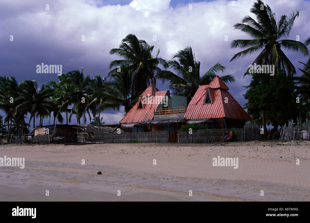 House On The Beach Of Isabela Puerto Villamil Galapagos