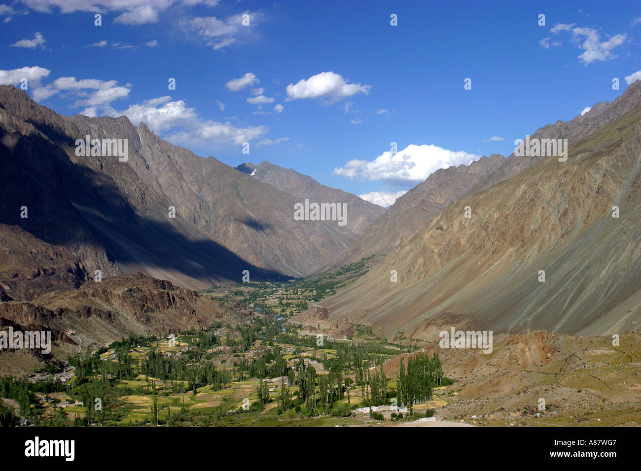 Chitral valley - Stock Image