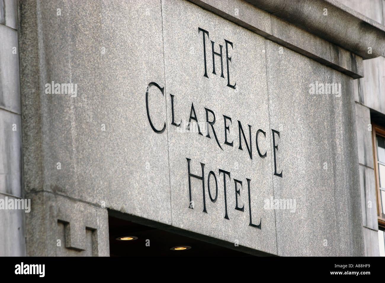 Clarence Hotel Dublin Stock Photos Amp Clarence Hotel Dublin