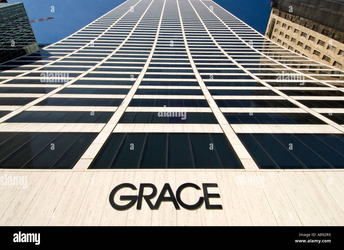 W.R. Grace Building in Manhattan 2007 - Stock Image