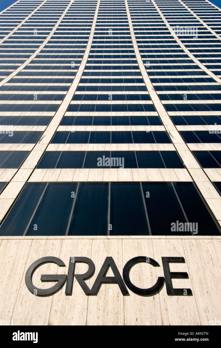 W.R. Grace Building in Manhattan 2007 Stock Photo