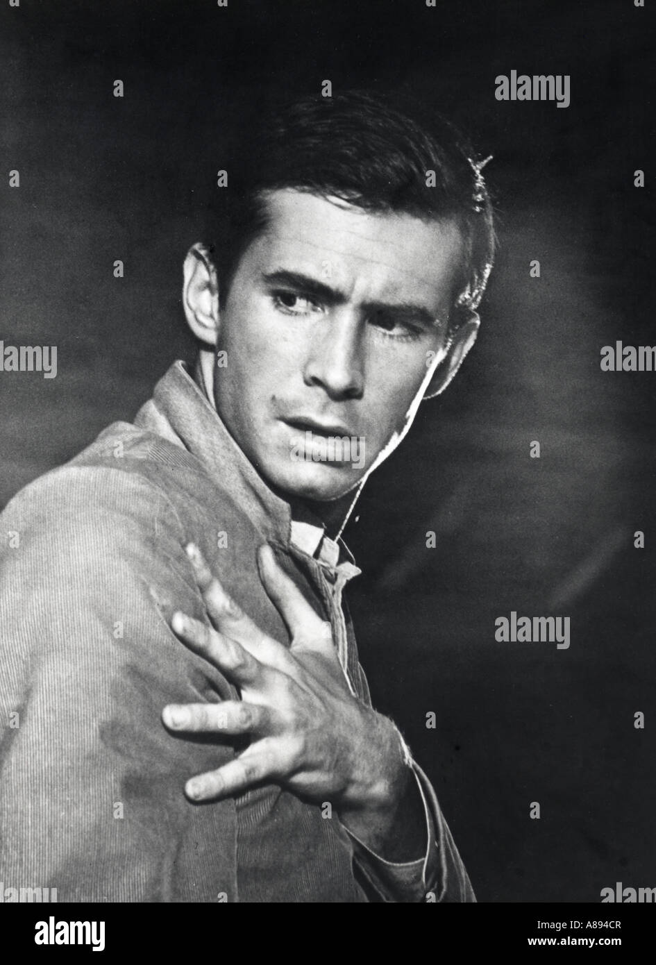 ANTHONY PERKINS US film and stage actor - Stock Image