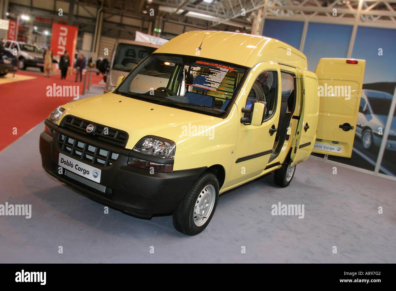 Fiat Doblo Cargo Van At The Commercial Vehicle Show Nec Birmingham