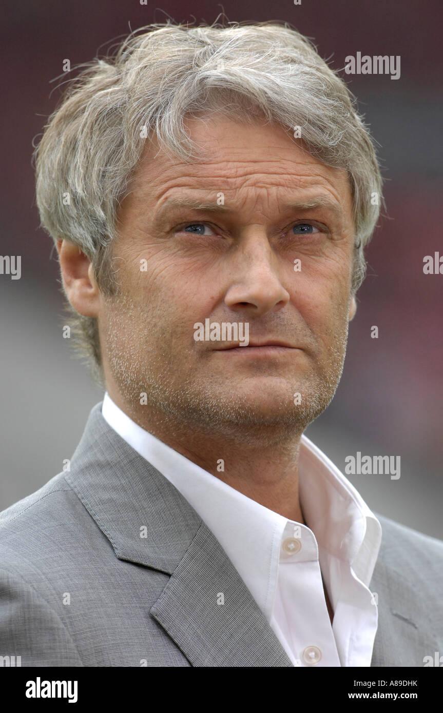 Coach Armin VEH VfB Stuttgart - Stock Image