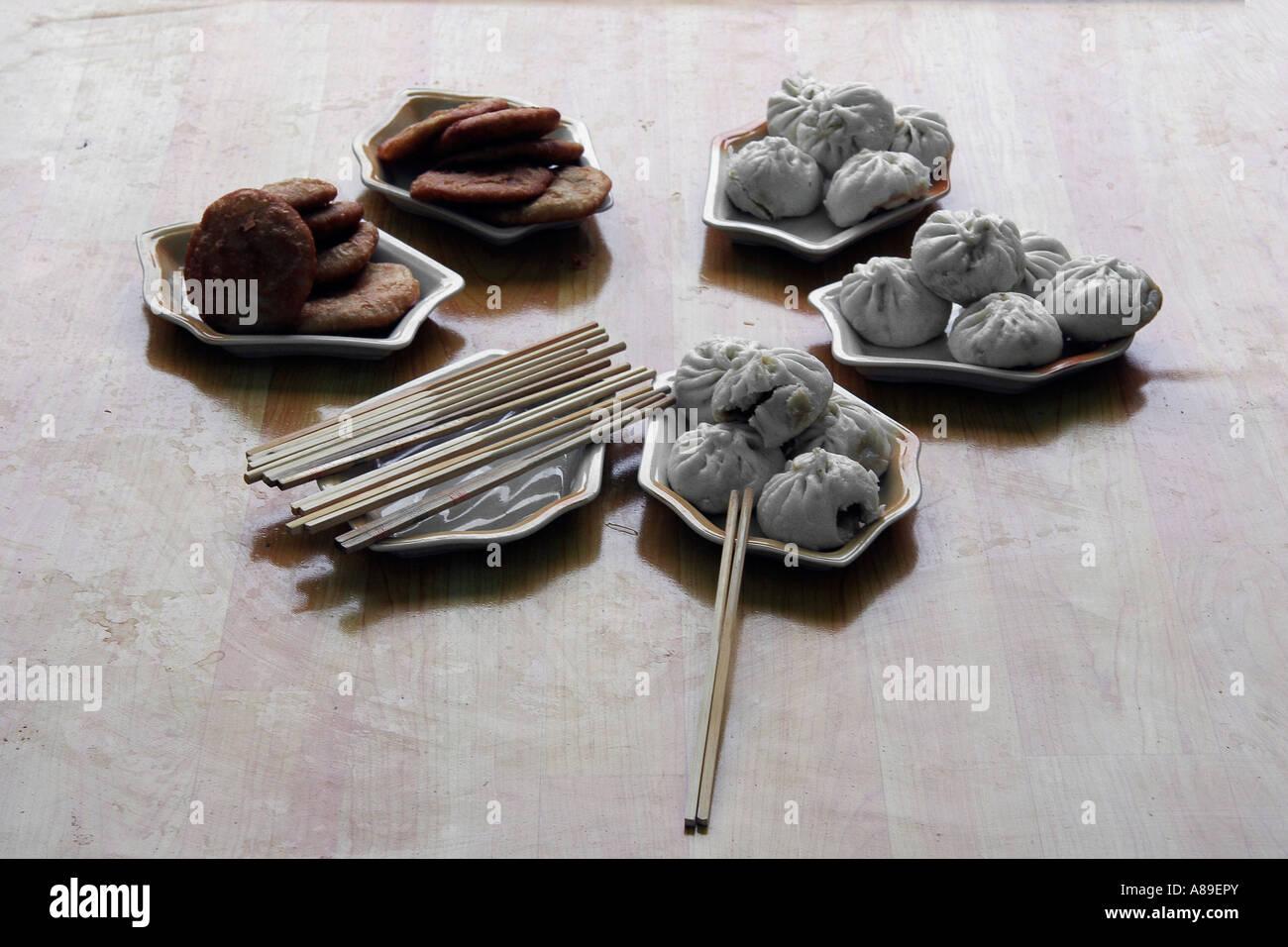 Chinese breakfeast Stock Photo