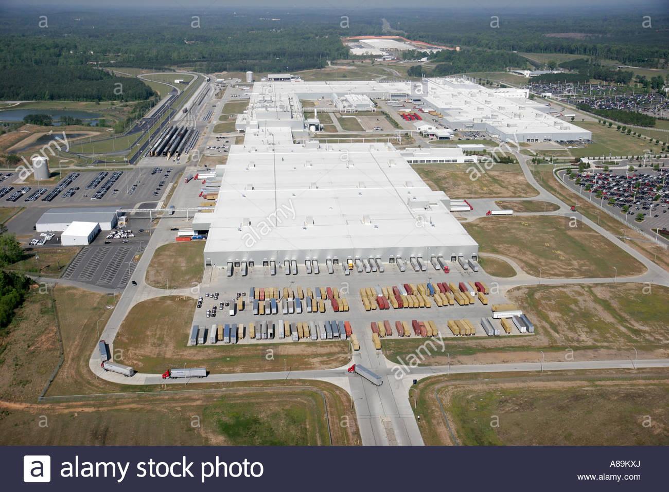 Alabama Vance Mercedes Benz German SUV manufacturing plant ...