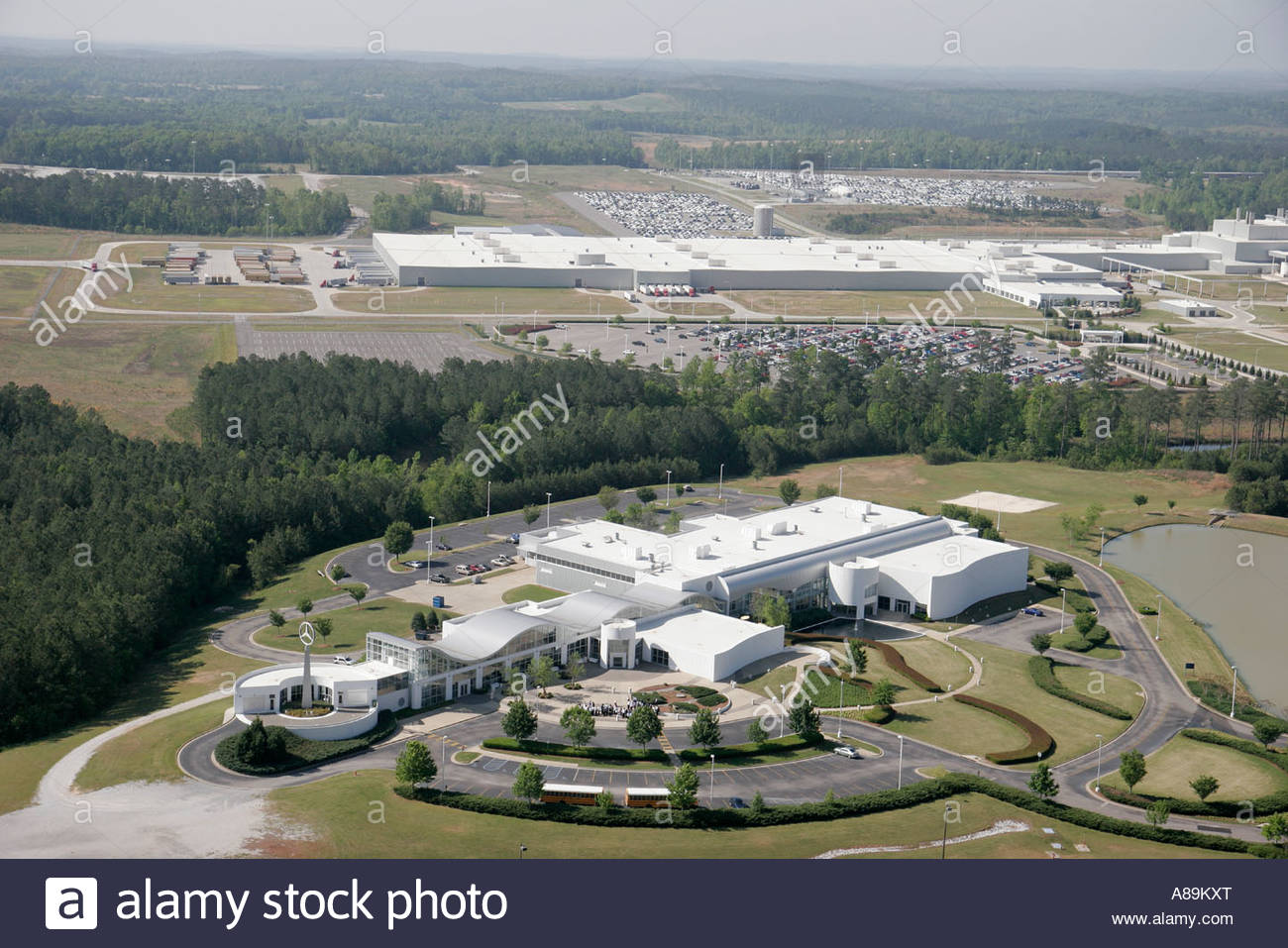 Alabama Vance Mercedes Benz German SUV manufacturing plant ...