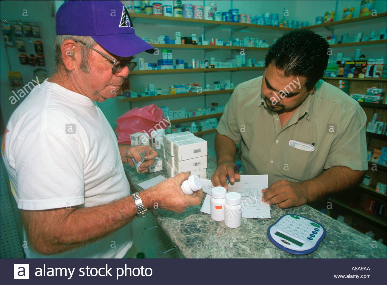 Senior Citizens Buying Prescription Drugs In Mexico To Save