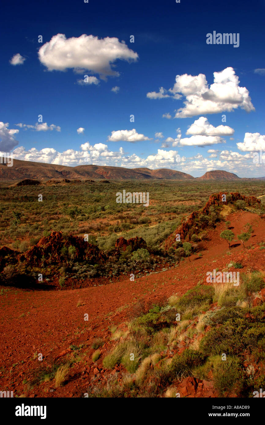 West Macdonnell National Park in Central Australia - Stock Image