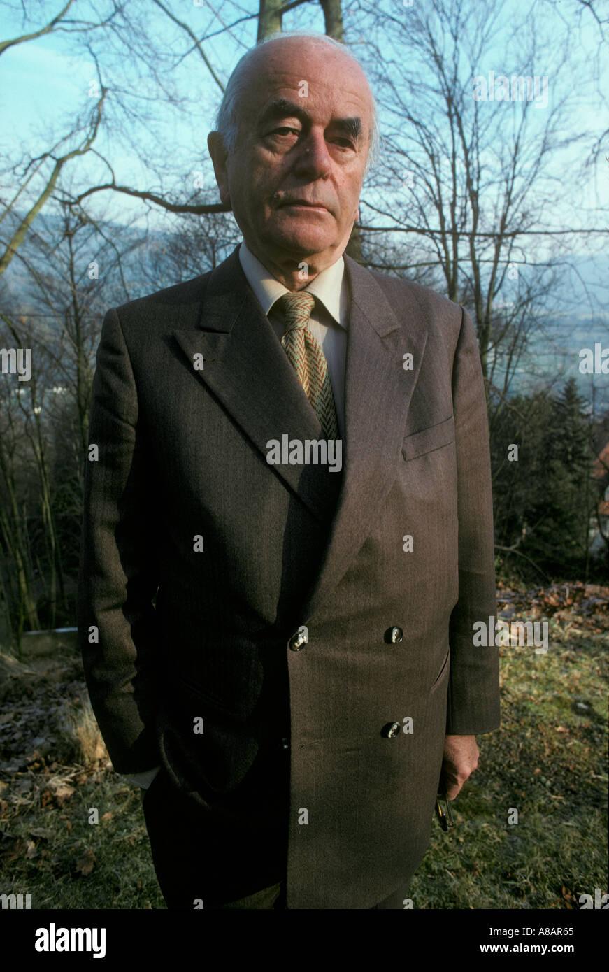 Albert Speer Hitler's architect 1979 - Stock Image