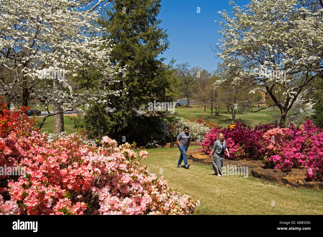 Garden Center Park Tulsa Oklahoma Stock Photos & Garden Center Park ...