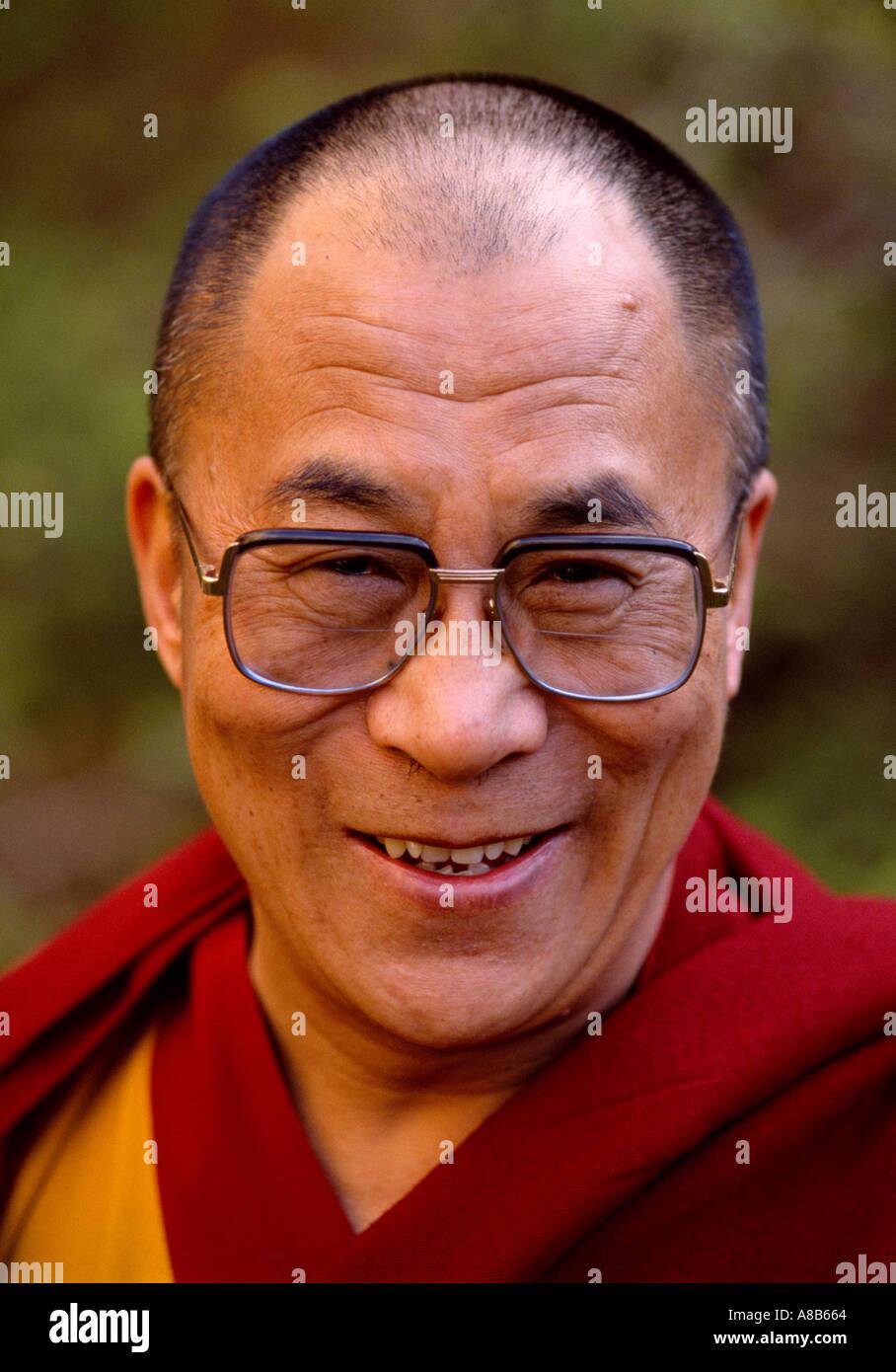 The Dalai Lama - Stock Image