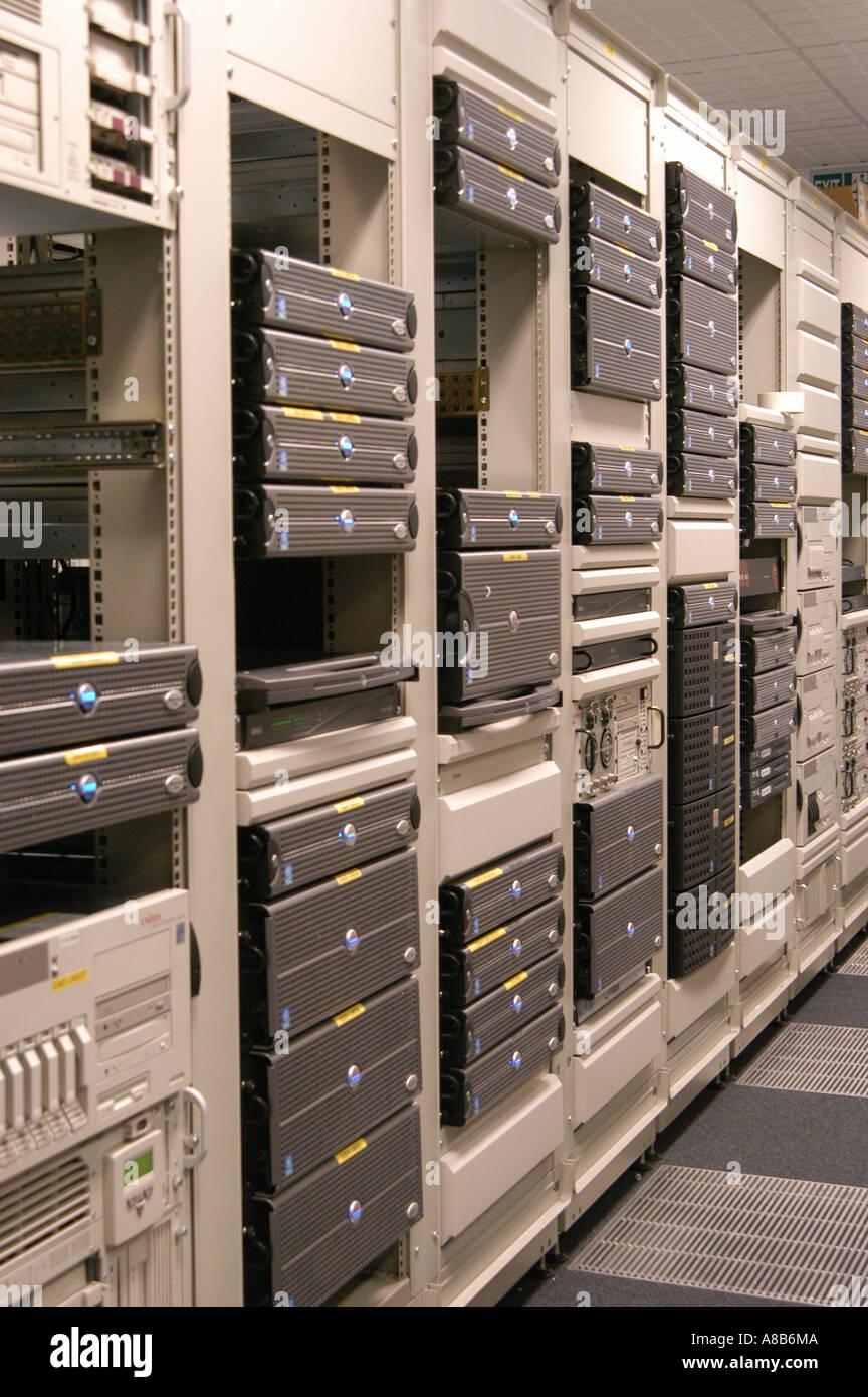 computer room - Stock Image