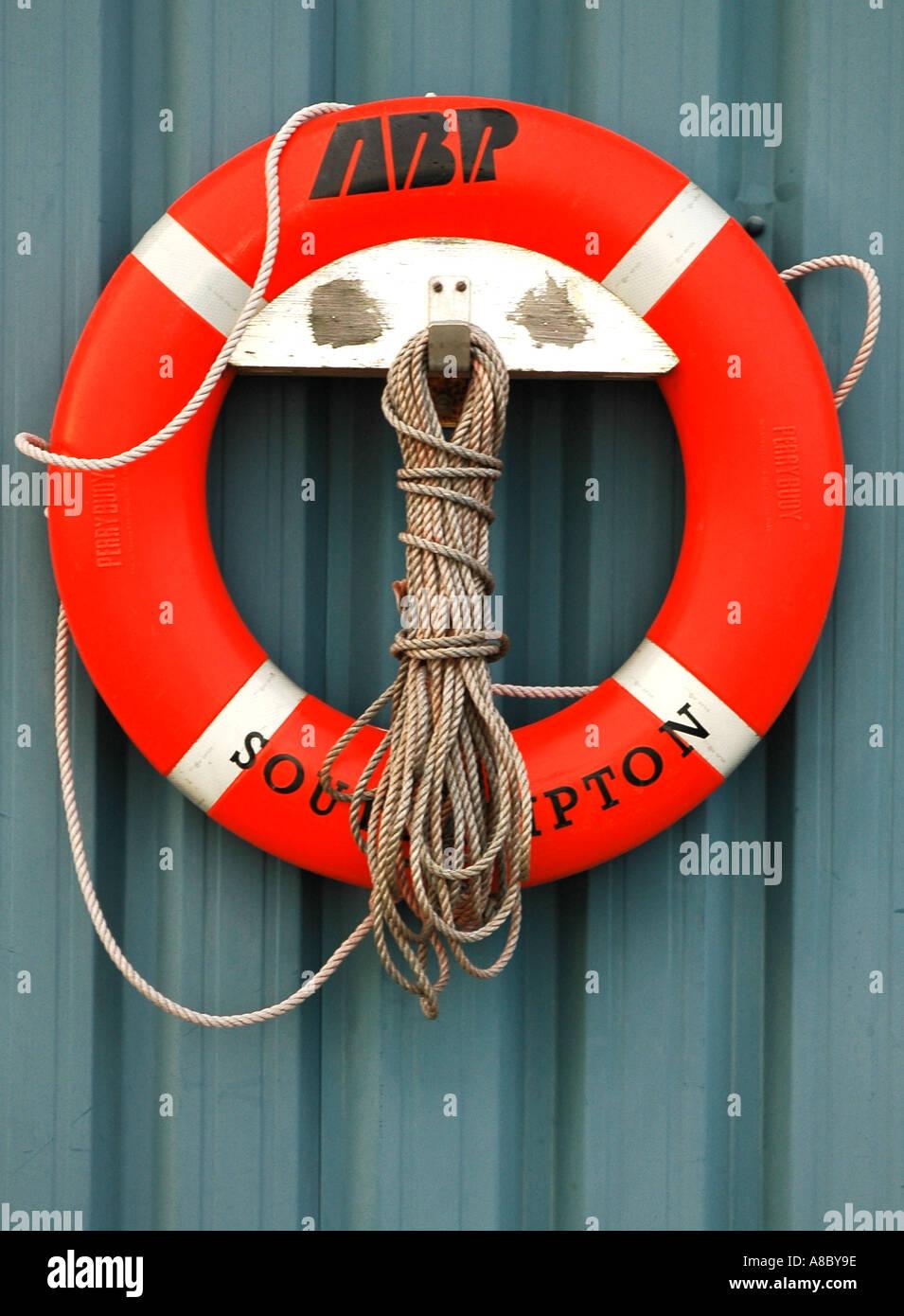 Lifebuoy - Stock Image