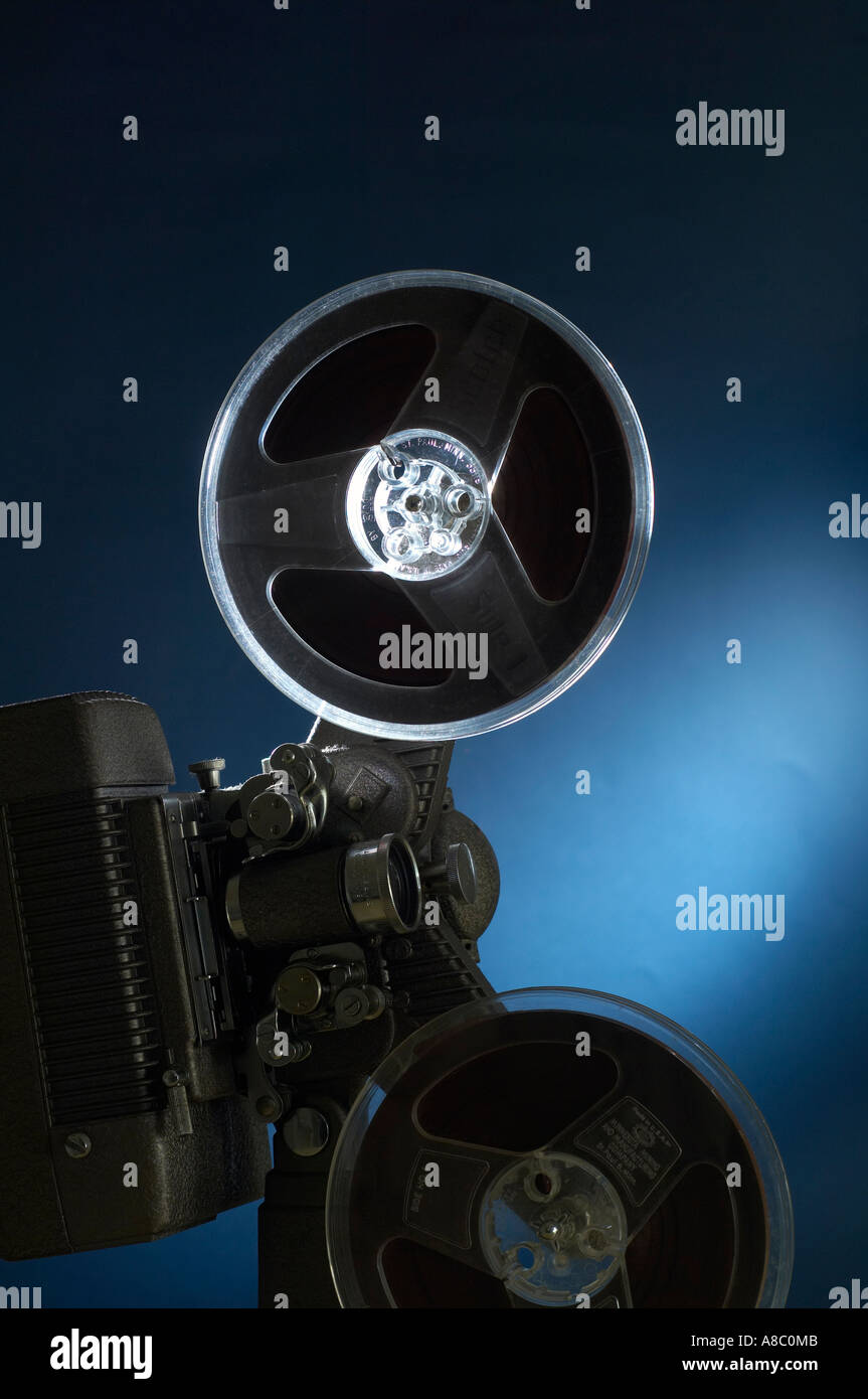 Image movie equipment a flash - Stock Image