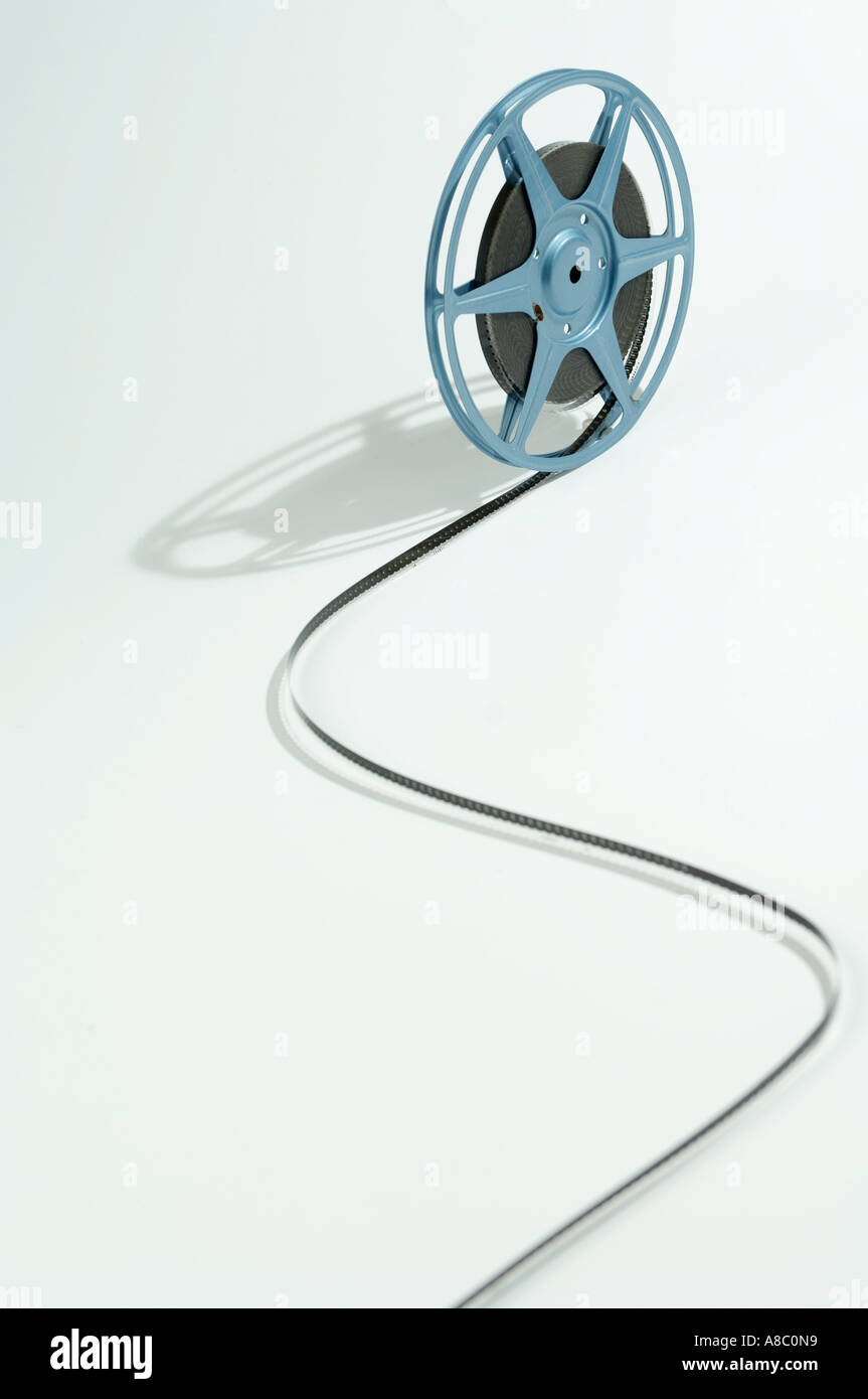 Image a reel of film - Stock Image