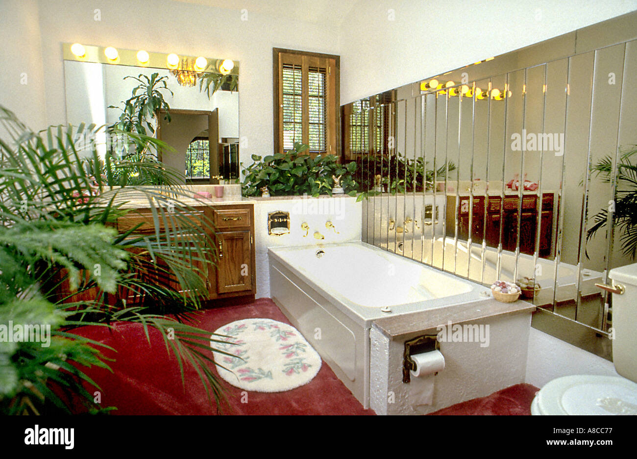 American Bathrooms USA Whirlpool Tub In House Interior Custom Luxury Bathroom Home