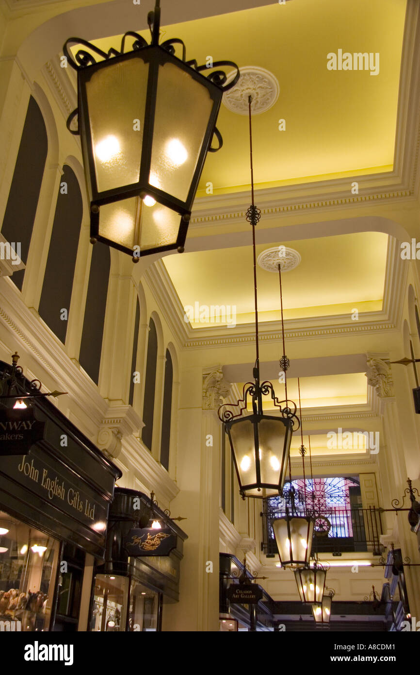 Queen's Arcade Picadilly 2 - Stock Image