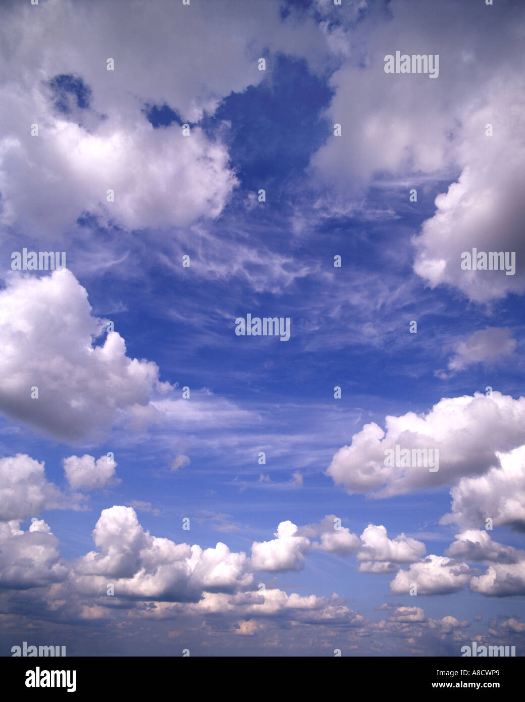 BACKGROUND CONCEPT:  Cloud Formation - Stock Image