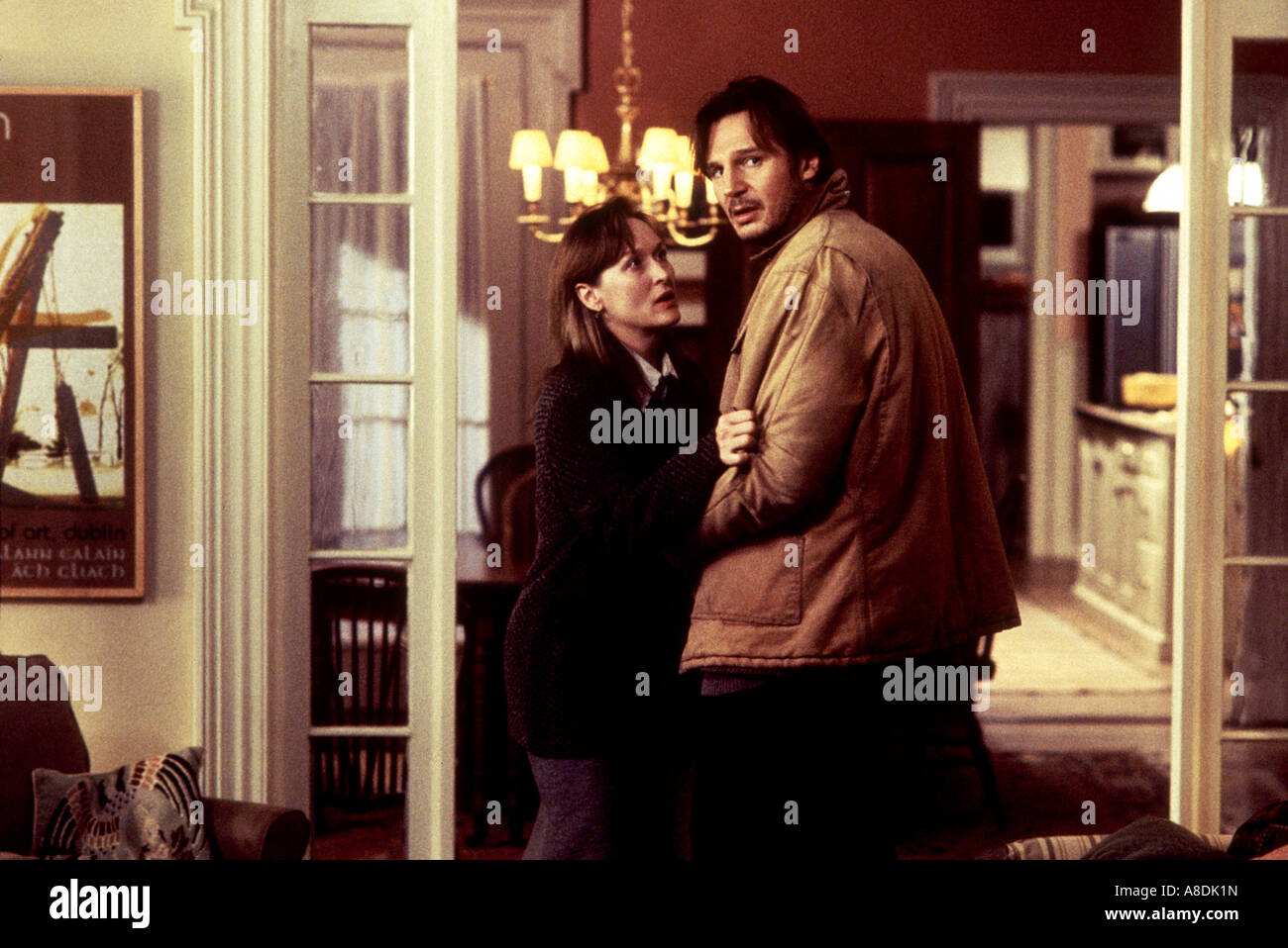 BEFORE AND AFTER - 1996 Buena Vista film with Meryl Streep and Liam Neeson - Stock Image