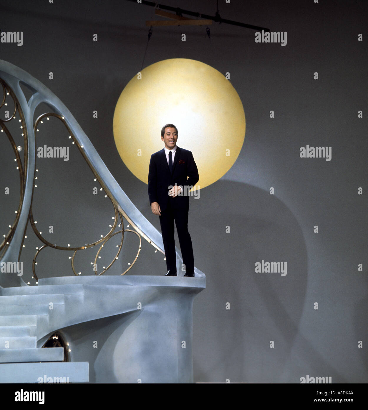 ANDY WILLIAMS -  US singer - Stock Image