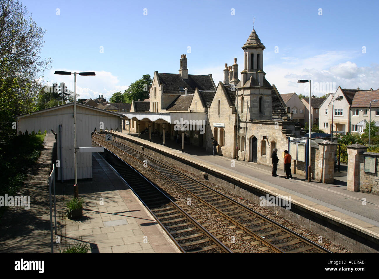 stamford train station stock photos & stamford train station stock