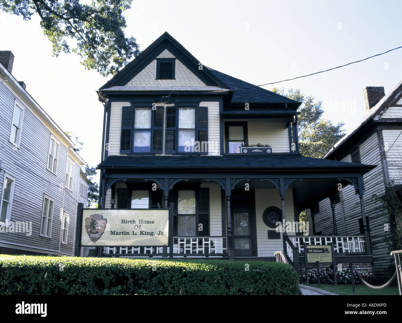 Residence Of Martin Luther King Jr Stock Photos Residence Of